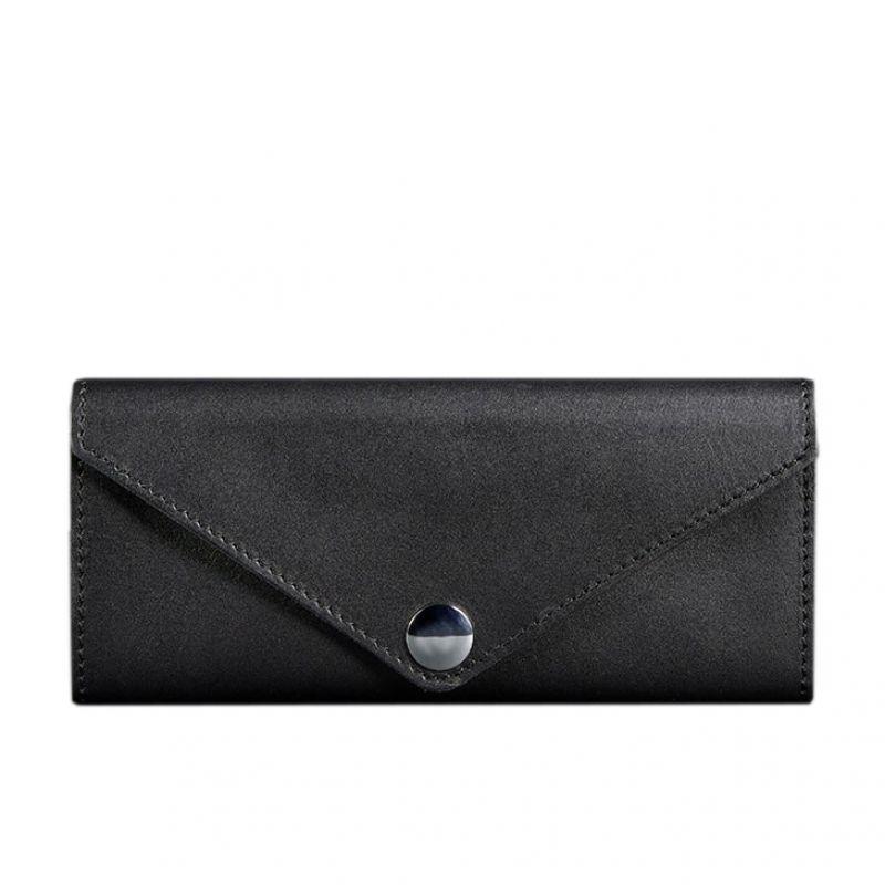 Женский кожаный кошелек Blanknote Керри 1.0 черный Krast