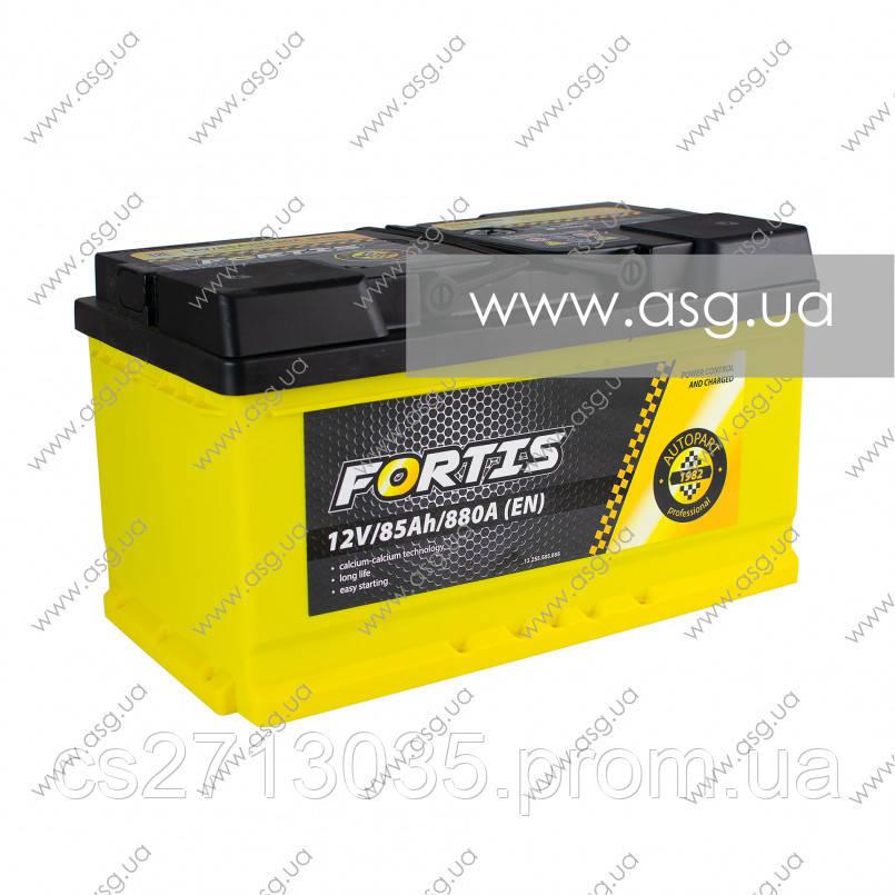 Автомобильный аккумулятор FORTIS 85 Ач 880 А (0) R+