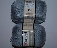 YarnArt Bianca Baby lux - 362 серый