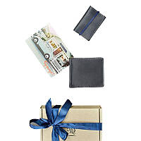Мужской подарочный набор кожаных аксессуаров Blanknote Токио