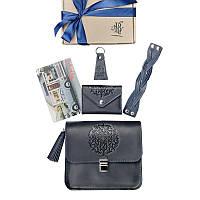 Женский подарочный набор кожаных аксессуаров Blanknote Лондон, фото 1