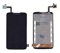 Матрица с тачскрином модуль для Lenovo IdeaPhone A316i черный