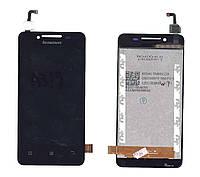 Матрица с тачскрином модуль для Lenovo IdeaPhone A319 черный
