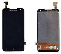 Матрица с тачскрином модуль для Lenovo IdeaPhone A526 черный