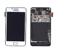 Матрица с тачскрином модуль для Samsung Galaxy S2 GT-I9100 белый
