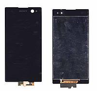Матрица с тачскрином модуль для Sony Xperia C3 D2502 черный