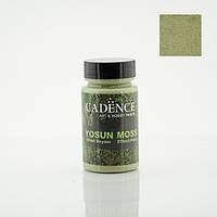 Акрилова фарба для створення ефекту моху Light Green Moss Effect, 90 мл, Світло зелений, Cadence, ME-3633