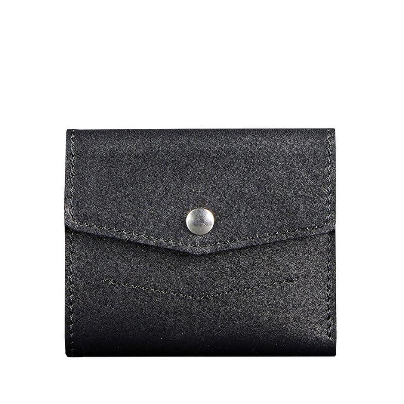 Кожаный кошелек Blanknote 2.1 черный