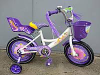 Детский двухколесный велосипед Azimut Герлз  Girls 18 дюймов