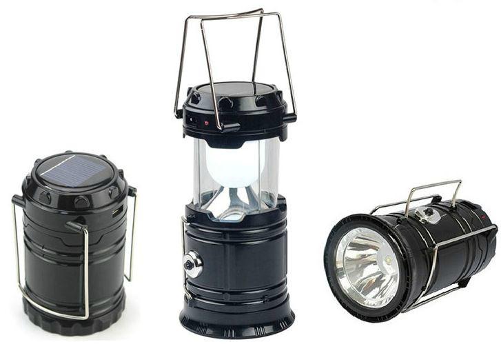 Кемпинговый фонарь JY-5700T черный