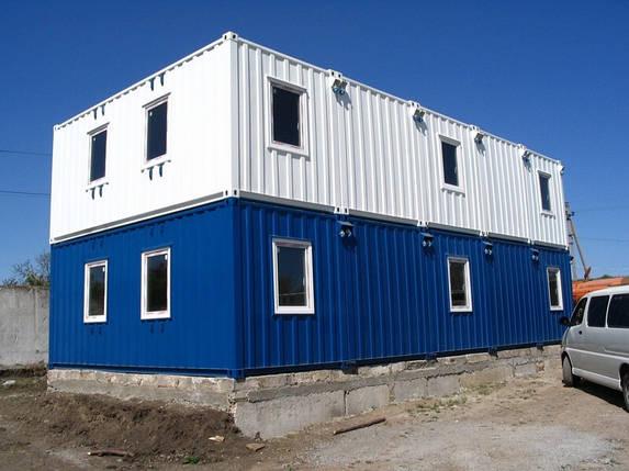 Модульная гостиница из морских контейнеров на 15 номеров, фото 2