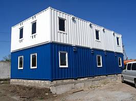 Модульная гостиница из морских контейнеров на 15 номеров