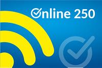 """Тариф """"Онлайн 250"""" з 50Gb для мобільного 3G/4G інтернету"""