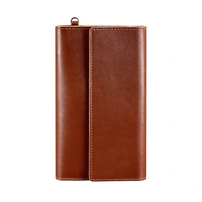 Кожаный клатч-органайзер (Тревел-кейс) Blanknote 5.1 светло-коричневый