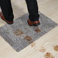 Супервпитывающий придверный коврик Clean Step Mat / Коврик грязезащитный