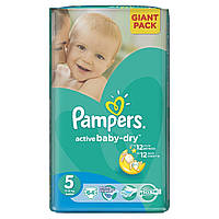 Подгузники Pampers Active Baby 5 junior 11-18 кг (64 шт)
