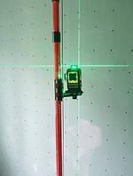 Распорная штанга для лазерного уровня 4м Firecore резьба 1/4 и 5/8 оригинал