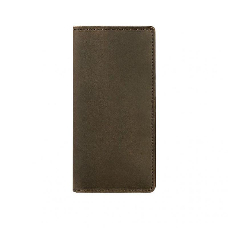 Кожаное портмоне Blanknote-купюрник Blanknote 1.0 темно-коричневое
