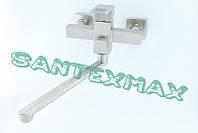 Смеситель для ванны и душа Mixxus Fit 006 euro из нержавеющей стали