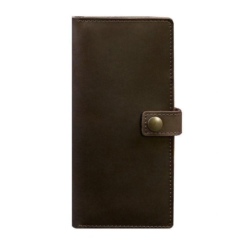Кожаный Тревел-кейс Blanknote (органайзер для документов) Blanknote 6.0 темно-коричневый