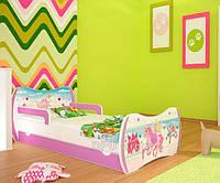 Детская односпальная кровать DREAM L04 160/80 DM02 Розовый
