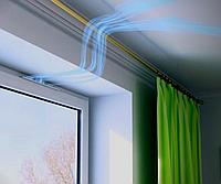 Віконний провітрювач New Air (вентиляційний клапан). Самостійний монтаж.