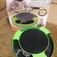 Когтеточка с игрушкой миль для кошек и котов Feline, фото 1