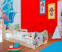 Детская односпальная кровать DREAM L06 180/90 – DM11 Ольха