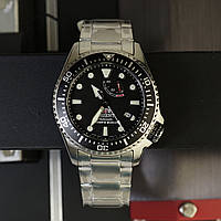 ORIENT Triton Black Automatic Diver Sapphire RA-EL0001B00B JAPAN