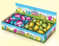 Конфеты Шоколадные Ассорти Пасхальные Яйца Мини Baron (4 вида начинки) ящик 2,2 кг Польша