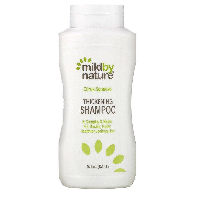 """Шампунь для густоты волос Mild By Nature """"Thickening Shampoo"""" с биотином и цитрусовой смесью (473 мл)"""