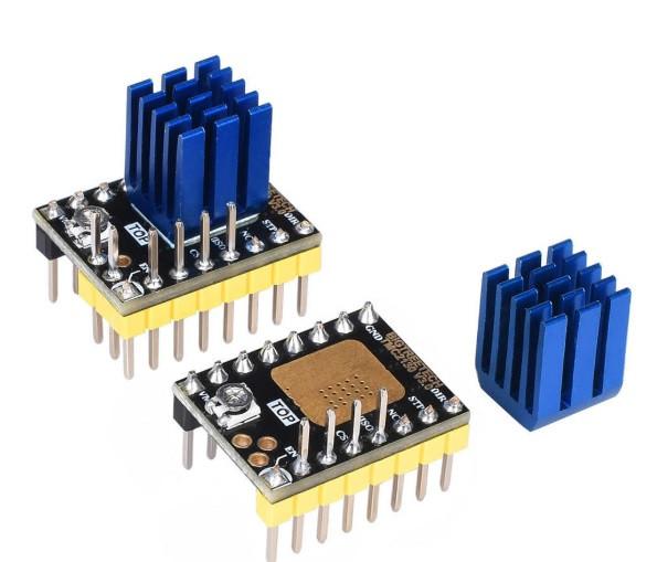 TMC2130 v3 DIY (Step Dir) с радиатором 1/256 тихий драйвер