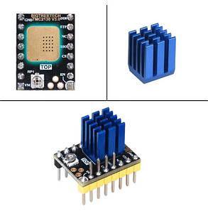 TMC2130 v3 DIY (Step Dir) с радиатором 1/256 тихий драйвер, фото 2