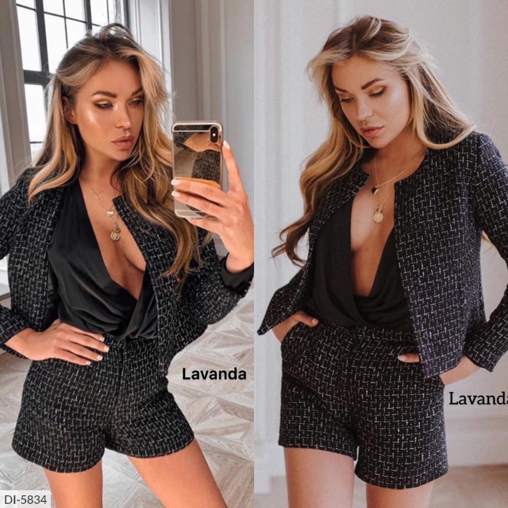 Костюм женский пиджак и шорты размеры  42 44 46 Новинка есть много цветов