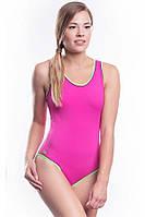 Купальник женский сдельный спортивный SHEPA 001 розовый S