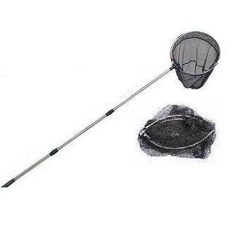 Подсак рыболовный круглый 3 секции ручка 1.70 м