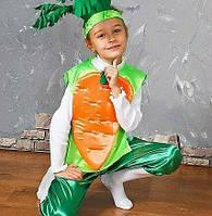 Карнавальный детский костюм Морковь,морковочка,морква, фото 1