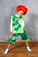 Карнавальный детский костюм Помидор,томат,помидорчик, фото 1