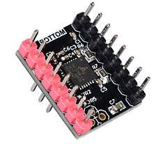 TMC2208 v3 DIY (STEP/DIR) с радиатором 1/256 тихий драйвер, фото 3