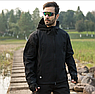 """🔥 Куртка Soft Shell """"ESDY. TAC-105"""" - Черная (непромокаемая куртка, тактическая, полицейская), фото 9"""
