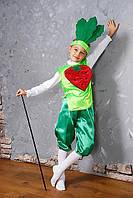 Карнавальный детский костюм Буряк,бурячек,свекла, фото 1