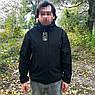 """🔥 Куртка Soft Shell """"ESDY. TAC-105"""" - Черная (непромокаемая куртка, тактическая, полицейская), фото 5"""