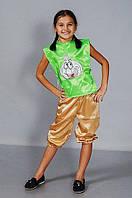 Карнавальный детский костюм Чеснок ,чесночек, фото 1