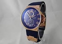 Женские механические часы Ulysse Nardin - Le Locle 1845 с автозаводом, синие