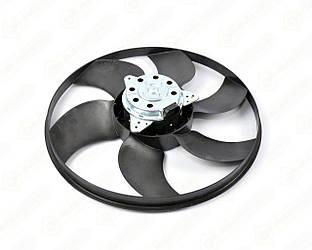 Вентилятор радиатора в диффузоре на Renault Kangoo II 2008-> (+/-AC) - Renault (Оригинал) - 7701071862