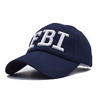 Кепка бейсболка FBI (ФБР) Синя 2, Унісекс, фото 1
