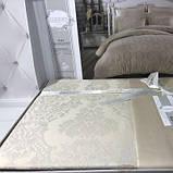 Комплект  постельного белья  жаккард  евро 200*220 ТМ  Gardine's Bukle bej, фото 2