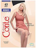 Колготки Conte Nuance 40 Den Чорний (Nero) розмір 5, фото 1