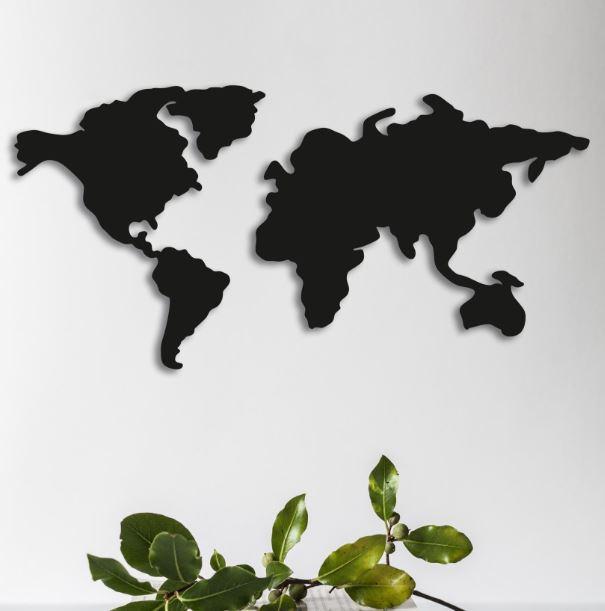 Карта мира и вселенная
