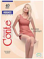 Колготки Conte Nuance 40 Den Beige размер 2, фото 1